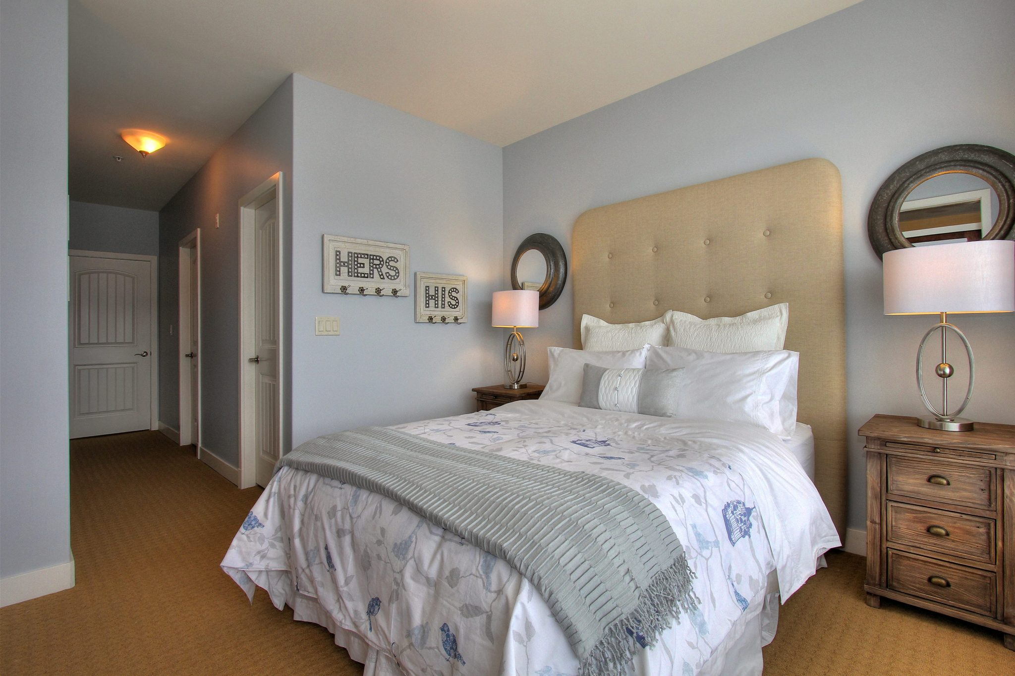 Bedroom after! | Creative Touch Kelowna Interior Design