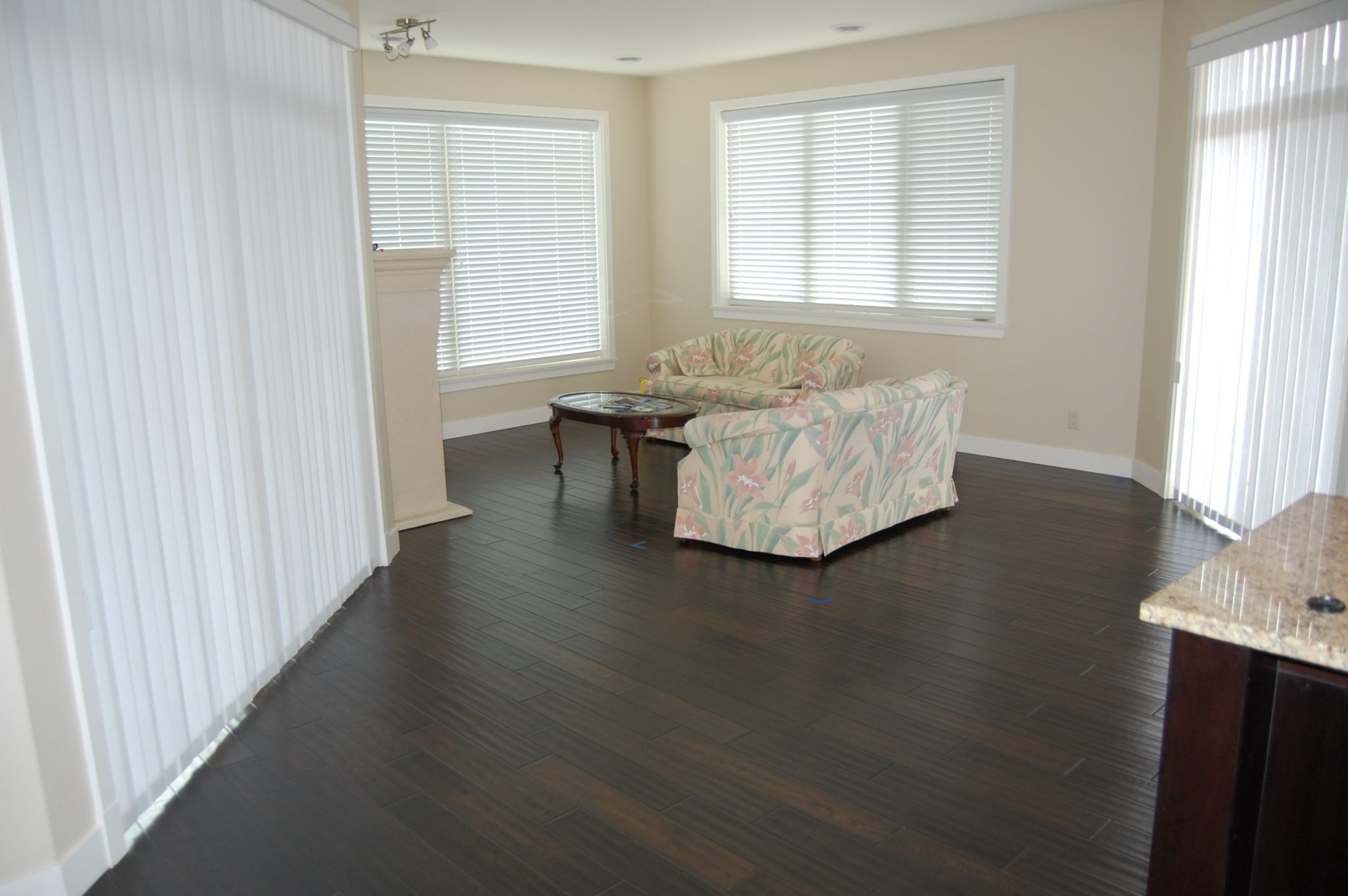 Living room before... | Creative Touch Kelowna Interior Design