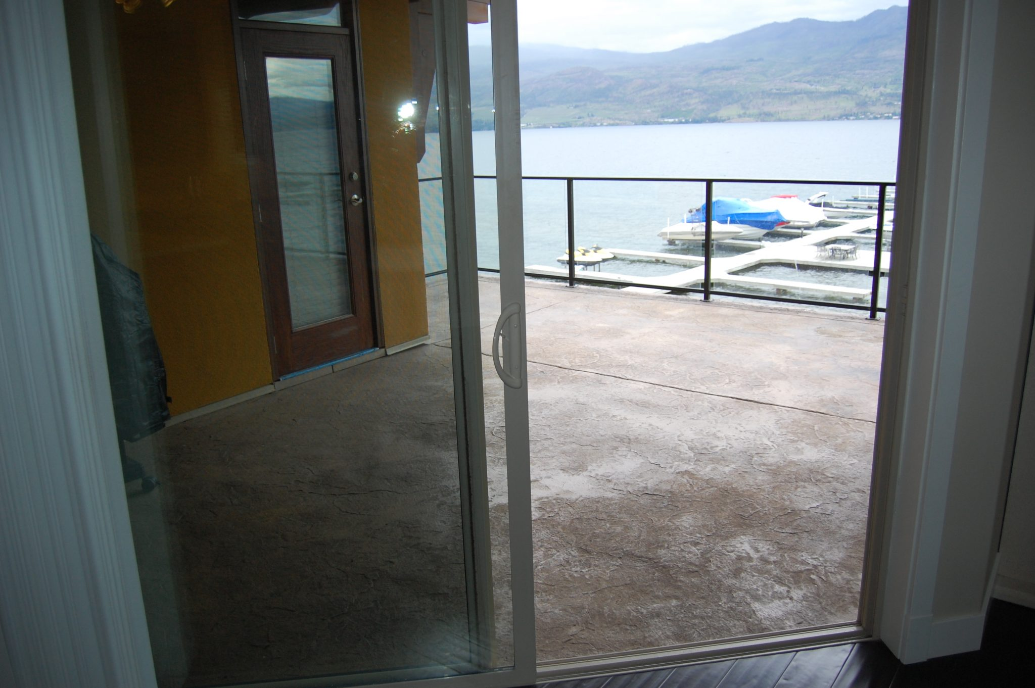 Patio before... | Creative Touch Kelowna Interior Design
